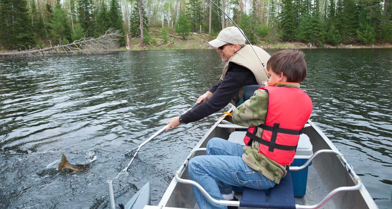 05 dicas para pescar com crianças!