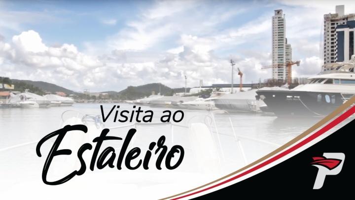 Visita ao Estaleiro Fibrafort e Teste Drive na Marina Tedesco